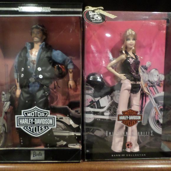 Harley Davidson Barbie Collector Edition